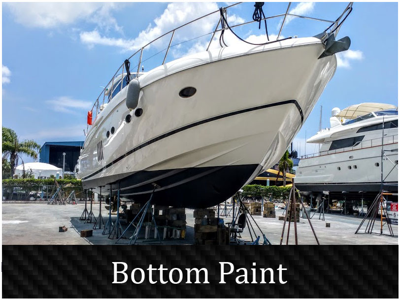 Boat bottom paint and Yacht painting