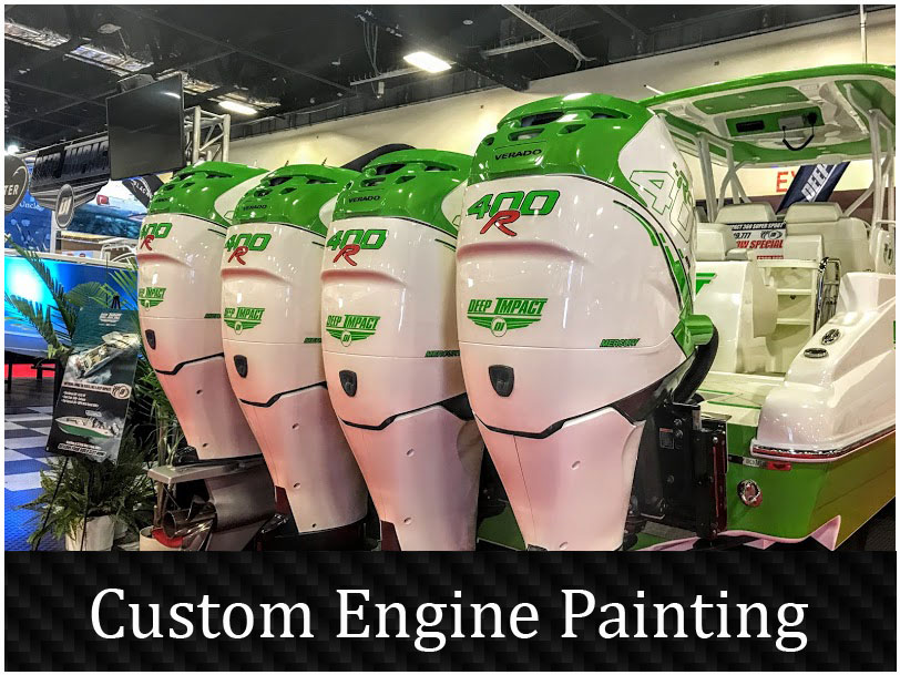 Custom Engine painting